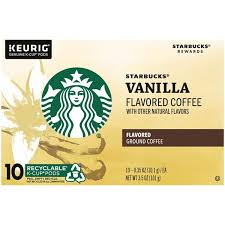 It's an essential part of our daily lives. Starbucks Vanilla Ground Coffee Keurig K Cups 10 Ct Hy Vee Aisles Online Grocery Shopping