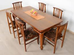 6 seater dining table for sale in bangalore