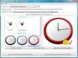Create A Clock Software - Make Your Own Personalised Cd And Wall Clocks