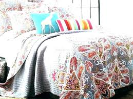 paisley bedding pottery barn bedspreads quilts blue medallion quilt medallions red gray aqua king grey c
