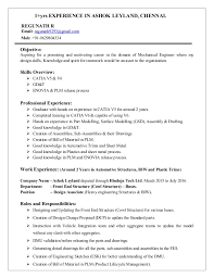 Structure Of A Resume Extraordinary ResumeTL