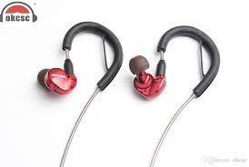 okcsc dd4 headphone diy hybrid dynamic 1ba 1dd bluetooth earphones ear hook in ear earbuds headset can change cable top 10 headphones workout headphones