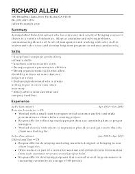 Functional Summary Resume Examples Retail Functional Resumes