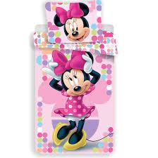 Disney Minnie Mouse Duvet Cover Pink 140x200cm 70x90cm Simbashopnl