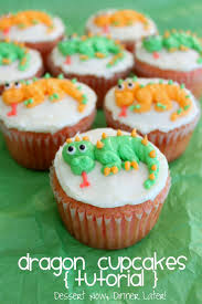 Dragon Cupcakes Tutorial Dessert Now Dinner Later