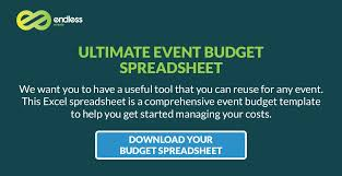 Sample Event Budget Interesting How To Create Your Event Budget Endless Events