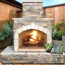 e outdoor fireplace found it at natural stone gas fire pit column target propane