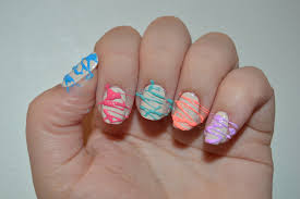 Neon Sparkly Nails: Sugar Spun Nail Art Tutorial