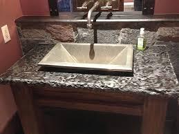 Bath Granite Bathroom Countertops With Vessel Sinks Google Search