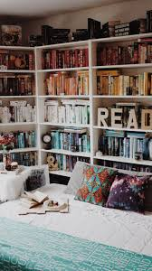 oh-thebookfeels: My book nook for now (Before anyone judges my rainbow  shelves When you move 1600 miles and have to move again in a few months,  ...