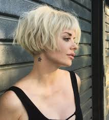 Top 36 Short Blonde Hair Ideas For A Chic Look In 2019
