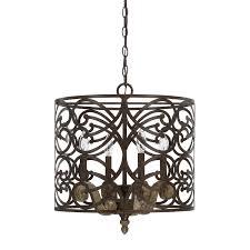 4 light pendant enlarge ornate metal scrollwork wraps our renaissance pendant fixture