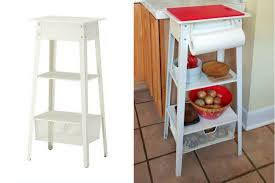 quick easy chopping station small kitchen island ideas
