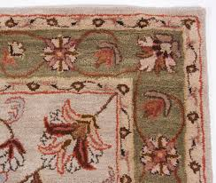 traditional wool area rugs heritage hand tufted rug carpet beige brown blue green faux oriental plush for living room red distressed persian leather