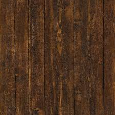wood plank wallpaper faux dark brown panel b and q