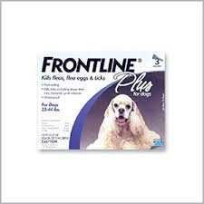 frontline for puppies. Frontline Plus For Dogs - 23 44 Lbs. 3 Doses Puppies