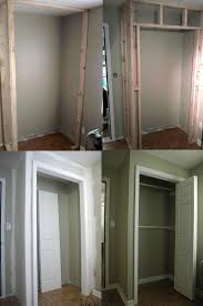 How To Build A Closet In An Existing Room For The Home Build Closet For Small Bedroom