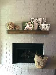 outstanding rustic mantel shelf fireplace floating shelves contemporary stone with faux fir