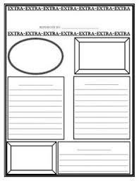 Extra Extra Newspaper Template Student Newspaper Template Printable Magdalene Project Org