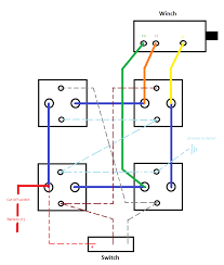 warn winch wiring diagram 4 solenoid wiring diagram and wiring diagram electric winch diagrams and schematics