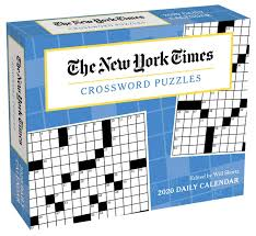 Flip Chart Holder Crossword New York Times Crossword Puzzles 2020 Day To Day Calendar