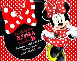 free minnie mouse invitation template minnie mouse birthday invitations free download printable invitation
