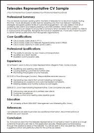 Resume With References Sales representative cv sample 15 – markposts.info