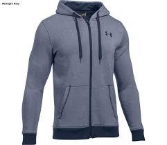 under armour zip hoodie. under armour men\u0027s rival eoe fitted full zip hoodie m