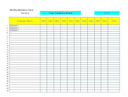 School Attendence Sheet School Attendance Sheets Free Attendance Sheet School