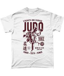 Judo Shirt Designs Judo Strength Courage