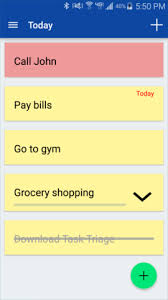 App 4 0 Task Triage Simple To Do List Android Forums At