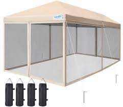 quictent ez pop up canopy screened