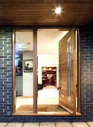 pivoting front door frameless glass pivot within inspirations 16