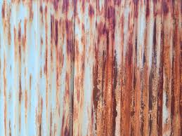 when the steel starts to rust though the texture becomes captivating and the fencing gains some character sweet sweet dilapidation