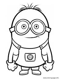 Small Picture Despicable Me 3 minion Coloring pages Printable
