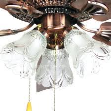 ceiling fan hunter 4 light hunter bright brass ceiling fan light kit polished brass ceiling