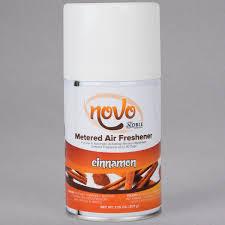 Bathroom Fresheners Classy Noble Chemical Novo 4848 Oz Cinnamon Metered Air Freshener Refill