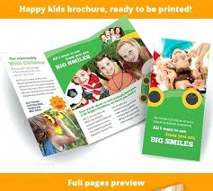 Brochure Hindi Meaning Template Kids Brochure Template Child Care