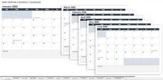 Printable Monthly Calendar Templates 2015 Schedule Template Free Printable Excel Calendar Templates