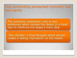 the essay conclusion make your essay sound finished ppt video  2 the concluding