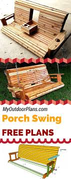 free porch swing plans learn how to build a porch swing with my free simple woodworking plans at Free Wood Diagrams