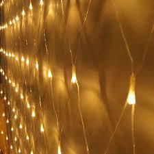 Outdoor Net Lights Warm White Net Mesh Waterproof Fairy String Lamp 6m 4m 672led For