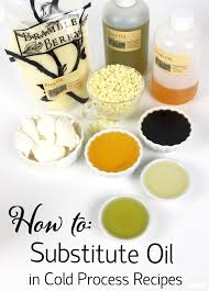 Soap Oil Properties Chart How To Substitute Oil In Cold Process Recipes Soap Queen