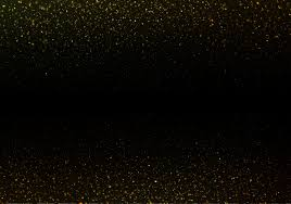 The Crystal Enchantress Gold On Black Background