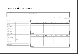Workout Table Template Gym Timetable Template Metabots Co