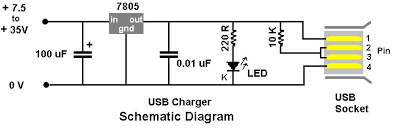 usb phone charger wiring diagram wiring diagram usb charger wire diagram electronic circuit wiring