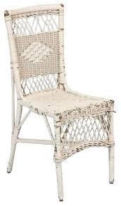 white wicker chair. Vintage White Wicker Chair - $450 Est. Retail $125 On Chairish.com H