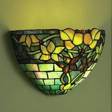 battery operated sconce lights cool art glass wall sconce battery operated with remote control jewel tones