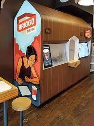 Ian nater, senior customer service manager at briggo, talks about the coffee robot at sxsw and how it honors the hard work of those who cultivate the coffee. Vended Barista Quality Coffee Really Yes Really Vending Times