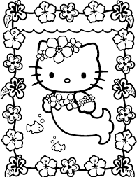 Small Picture Hello Kitty Princess Printable Coloring Pages Dzrleathercom